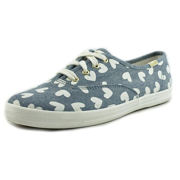 Keds Chambray Hearts Women Synthetic Blue Fashion Sneakers
