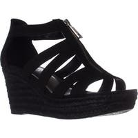 Lauren Ralph Lauren Kelcie Platform Wedge Sandals, Black