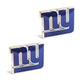 New York Giants Post Stud Logo Earring Set Charm Gift NFL