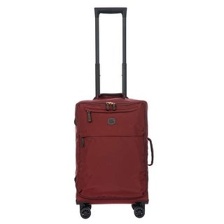 Bric's X-Bag 2.0 21 Inch Carry On Spinner, Bordeaux