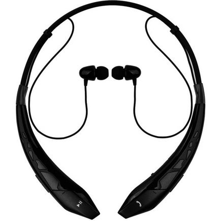 2a085249239 Shop Bem Eb400 Bt Earbuds Neckband Mic Black - Free Shipping On Orders Over  $45 - Overstock - 19916220