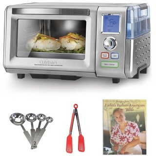 Cuisinart CSO-300 Combo Steam/Convection Oven (Silver) with Kitchen Accessories