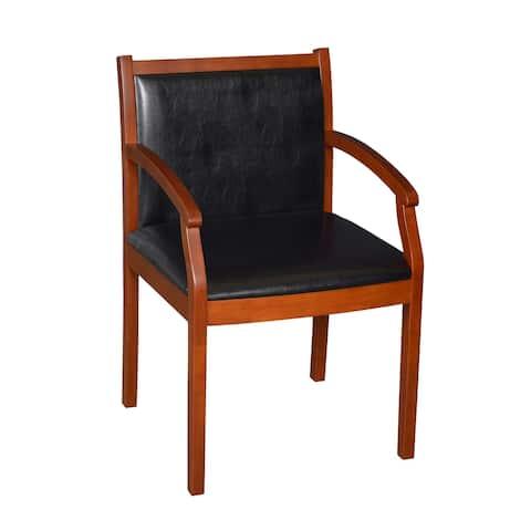 Render Vinyl Side Chair- Cherry