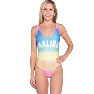 Wildfox Malibu Sunscreen One Piece Swimsuit