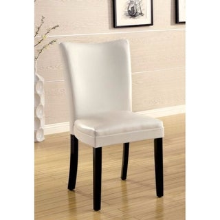 White Dining Side Chair ,Set Of 2