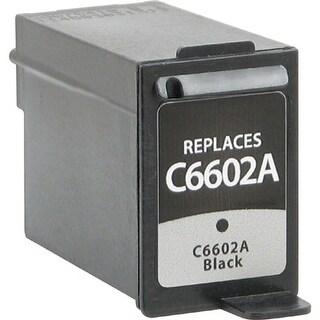 V7 V7C6602A V7 Ink Cartridge - Replacement for HP (C6602A) - Black - Inkjet