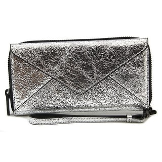 Loeffler Randall ZipWlt Wallet Women Leather Wristlet