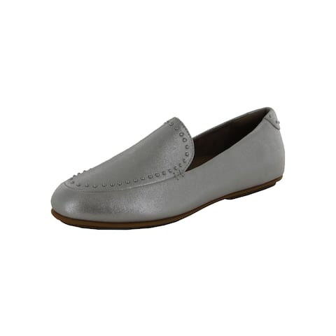 Fitflop Womens Lena Microstud Suede Loafer Shoes