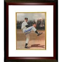 Bobby Shantz signed New York Yankees 8x10 Photo Custom Framed 1958 WSC World Series Champs