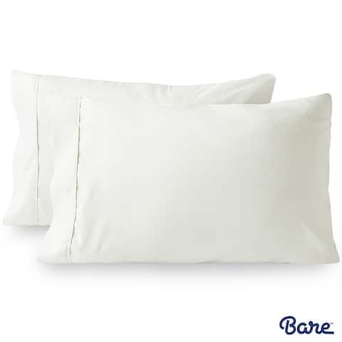Bare Home Premium 1800 Ultra-Soft Microfiber Pillowcase Set