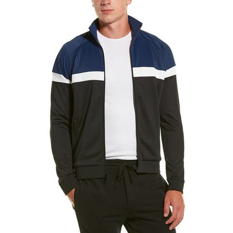 Vince Color Block Track Jacket