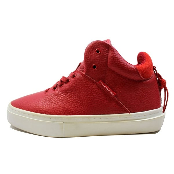 Clear Weather Men's One-Ten Red Leather CRW-110-Red Size 8