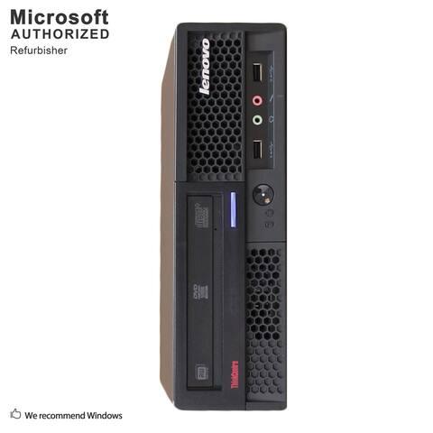 Lenovo M58 USFF, Intel E7500 2.93GHz, 4GB, 240GB SSD, DVD, WIFI, BT 4.0, VGA, W10H64 (EN/ES)-Refurbished