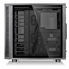 Thermaltake Case CA-1H8-00M1WN-01 View 31 TG RGB Mini ITX Mid Tower Black Retail