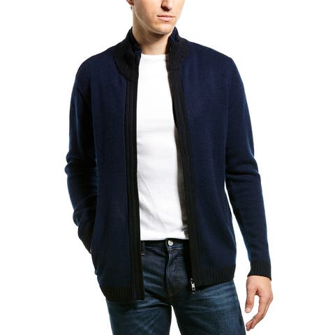 Autumn Cashmere Mock Neck Jacket