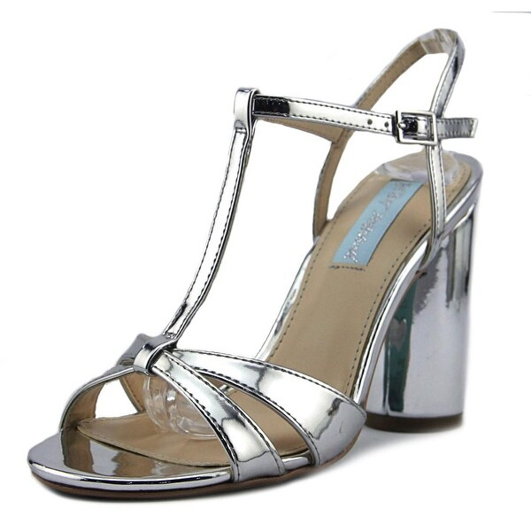 Betsey Johnson Luisa Silver Sandals