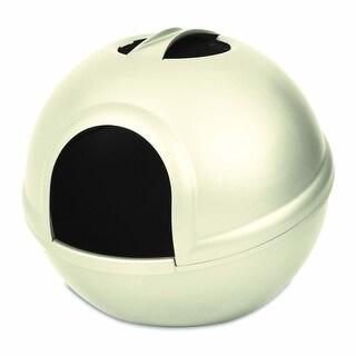 Petmate Booda Litter Dome Pearl White