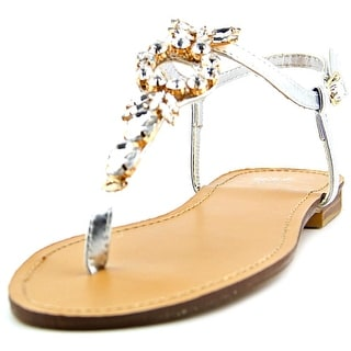 C.C. Shoes Crown Me Women Open Toe Synthetic Thong Sandal