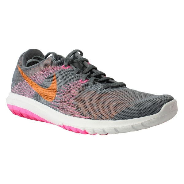 79c4071338d4 Shop Nike Womens Flex Fury Gray Running Shoes Size 10.5 New - Free ...