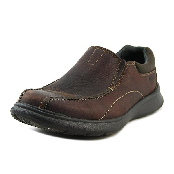 618d2b8fd73 Shop Clarks Cotrell Step Men Bicycle Toe Leather Brown Loafer - Free ...