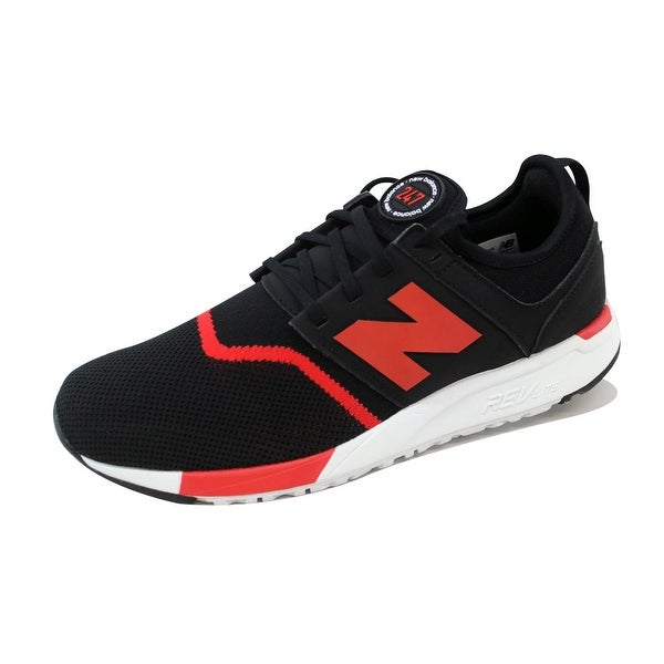 New Balance Men's 247 Classic Black/Red MRL247GR