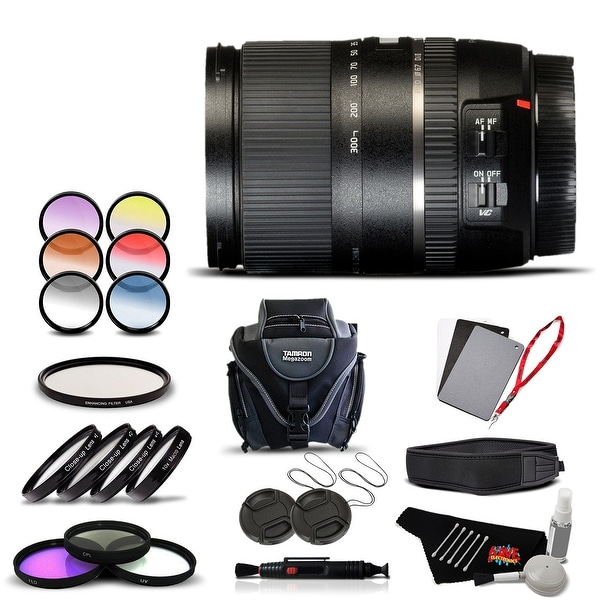 Tamron 16-300 f/3.5-6.3 Di II VC SN International Version (No Warranty) Advanced Kit - black