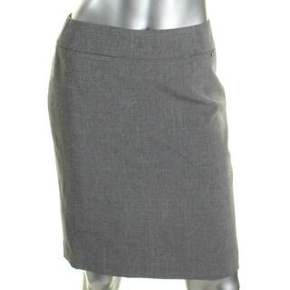 Tahari ASL Womens Petites A-Line Skirt Above the Knee Wear to Work