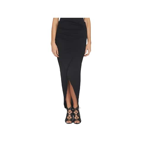 1.State Womens Maxi Skirt Tulip Ruched