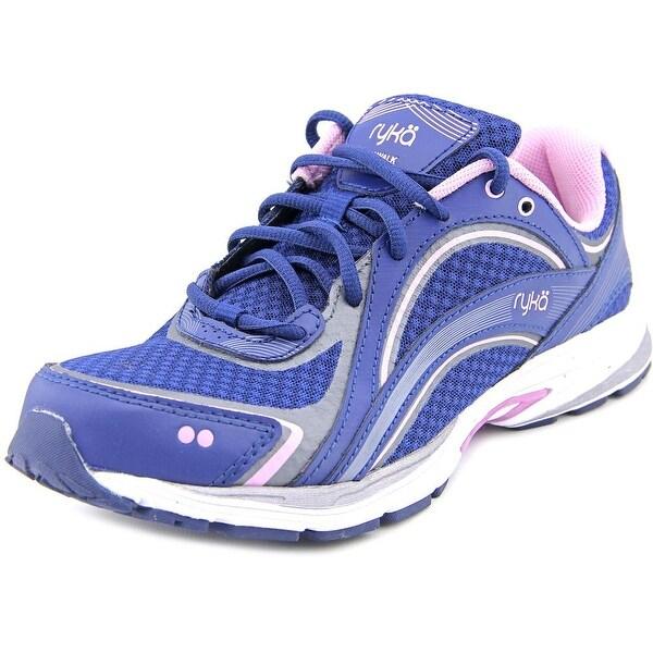 Ryka Sky Walk Women Round Toe Synthetic Blue Walking Shoe
