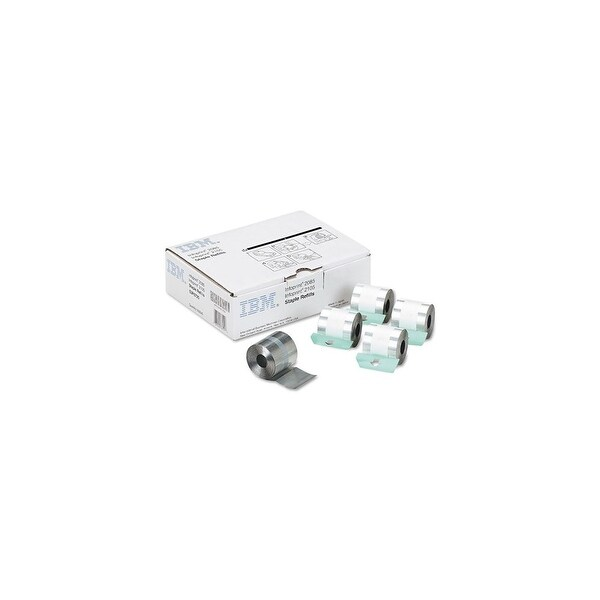 InfoPrint Staple Cartirdge - Five Cartridges 53P6725 Staple Cartridge