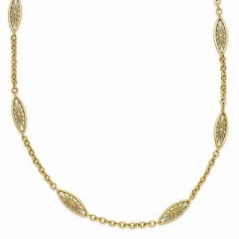Goldtone Downton Abbey Necklace - 36in