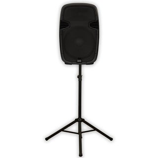 "Acoustic Audio AA152U Powered 900 Watts 15"" Speaker USB MP3 and Speaker Stand"