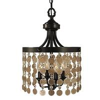 "Framburg 2484 Naomi 4 Light 12"" Wide Pendant"