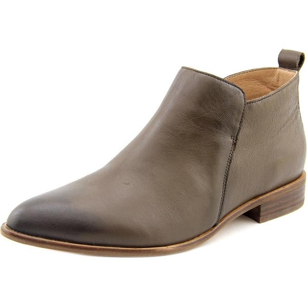 Corso Como Dynamite Women Pointed Toe Leather Brown Bootie