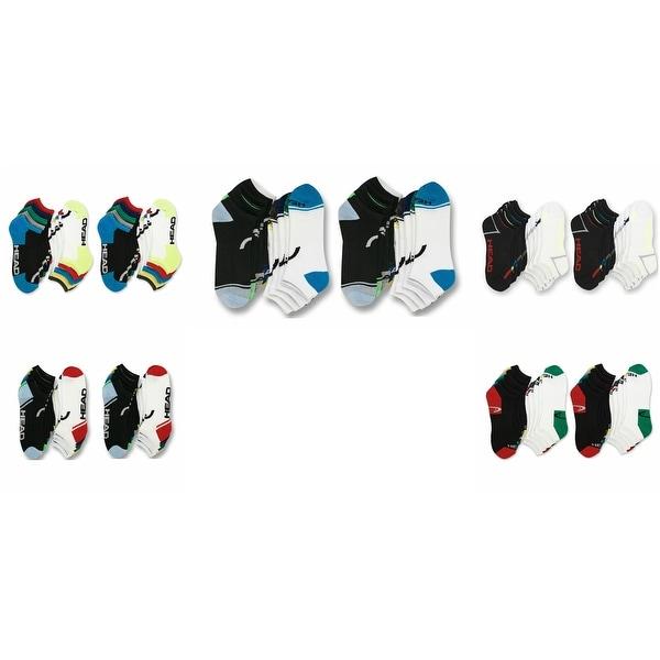 20 Pack - Head Men's Moisture-Wicking Athletic Socks