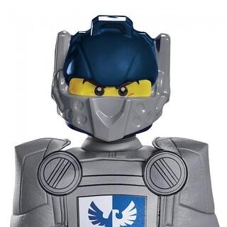 Lego Nexo Knights Clay Costume Mask Child - Blue