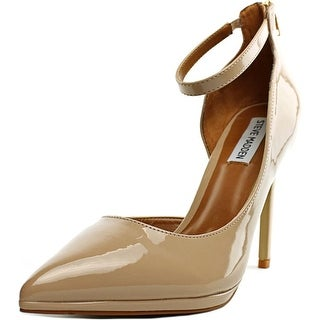 Steve Madden Hartly Women  Pointed Toe Patent Leather Nude Heels