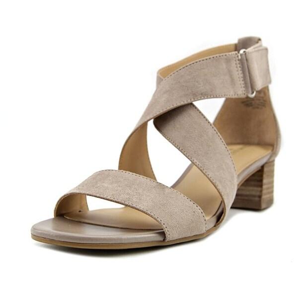 6e3b585f813a Shop Naturalizer Adele Women Open Toe Canvas Tan Sandals - Free ...