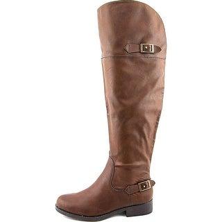 American Rag Womens AADAP Almond Toe Mid-Calf Riding Boots