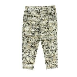 Calvin Klein Womens Casual Pants Charmeuse Pleated