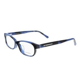 Burberry BE2202F 3546 Blue Rectangle Optical Frames - 54-16-140