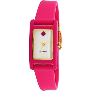 Kate Spade Women's Duffy KSW1278 Pink Rubber Quartz Fashion Watch