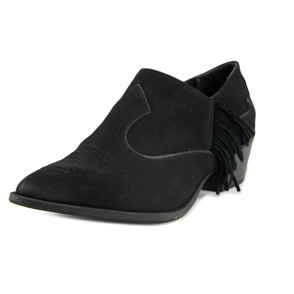 Circus by Sam Edelman Hermosa Women Pointed Toe Synthetic Black Bootie