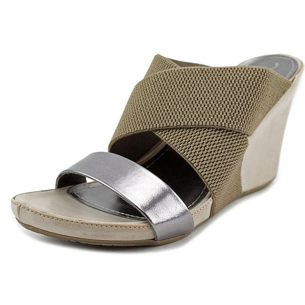 Unlisted Kenneth Cole Cob Web   Open Toe Synthetic  Wedge Heel
