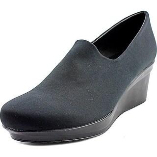 Spring Step Masha Women Open Toe Canvas Wedge Heel