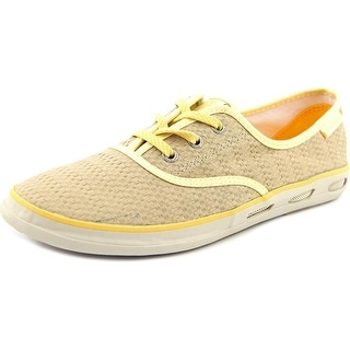 Columbia Vulc N Vent Round Toe Canvas Sneakers