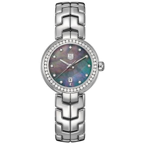 Tag Heuer Women's WAT1419.BA0954 'Link' Stainless Steel Watch - Silver