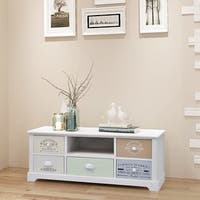 vidaXL Shabby Chic French TV Cabinet Wood