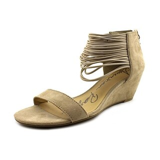 American Rag Carllie Women Open Toe Synthetic Nude Wedge Sandal