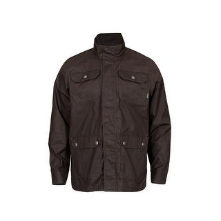 Rocky Outdoor Jacket Mens Zip SilentHunter Dark Mocha LW00143